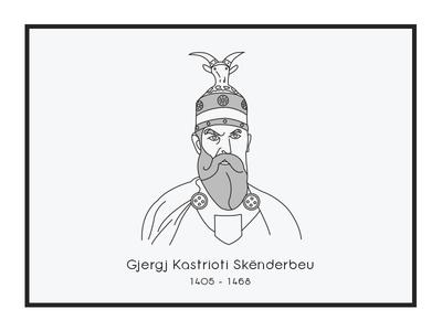George Castriot Skanderbeg