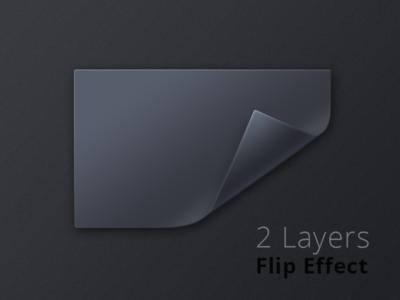 Double-layer Flip Effect (PSD)