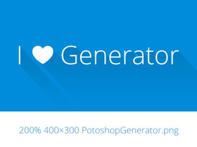 Adobe Generator for Photoshop CC