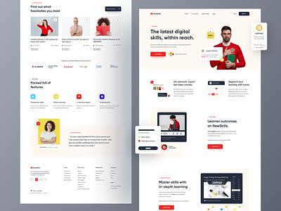 Online Learning Platform education website online course learning education learning platform
