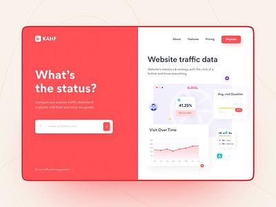 Website Analyzer analyzer uidesign webdesign ui uiux user interface design website design landing page kahf