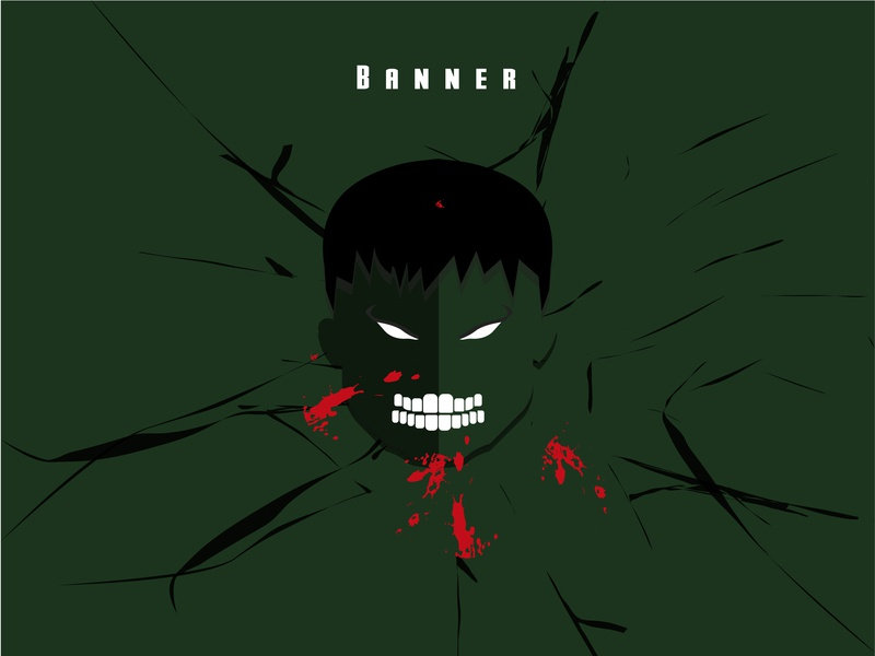 Hulk endgame infinity war bruce banner hulk marvel logo vector illustration adobe illustrator