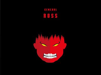 Red Hulk red marvel hulk red hulk infinity war icon design illustration vector adobe illustrator
