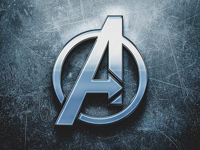 Avengers avengers infinity war marvel logo icon illustration vector adobe illustrator