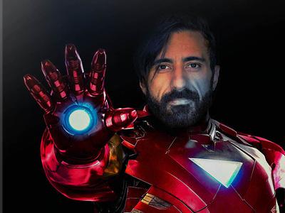 Ironman ironman endgame avengers infinity war marvel design vector illustration adobe illustrator