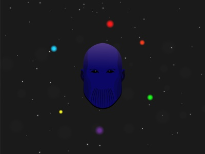 Thanos thor captain america ironman thanos endgame avengers infinity war marvel vector design illustration adobe illustrator