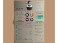 Infographic CV #3
