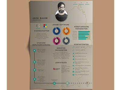 Infographic CV #3 cv design resume cv infographic ui typography vector logo icon design illustration adobe illustrator