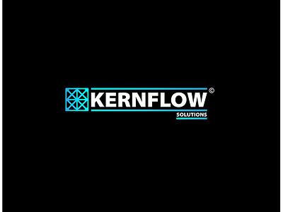 Kernflow ui branding icon logo design vector illustration adobe illustrator