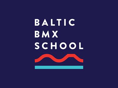 Baltic Bmx School school bmx minimal logo