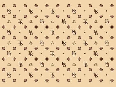 KB brand pattern pattern design brand identity motif brandbook cashmere identity branding logo design