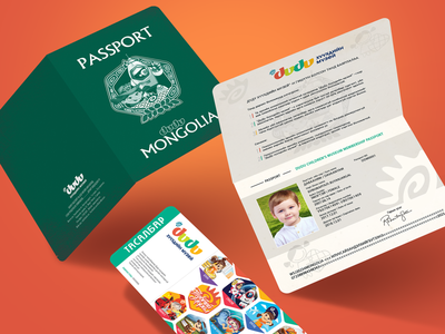Children's Museum Passport kids brandbook identity branding logo museums design passport children museum