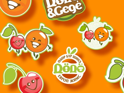 Dodo Gege logo colorful logo design characters design art character art characters