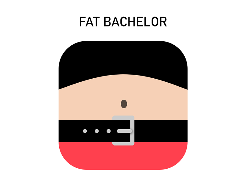 Fat Bachelor app icon fat bachelor