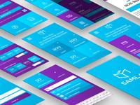 Mobile UI – Samla