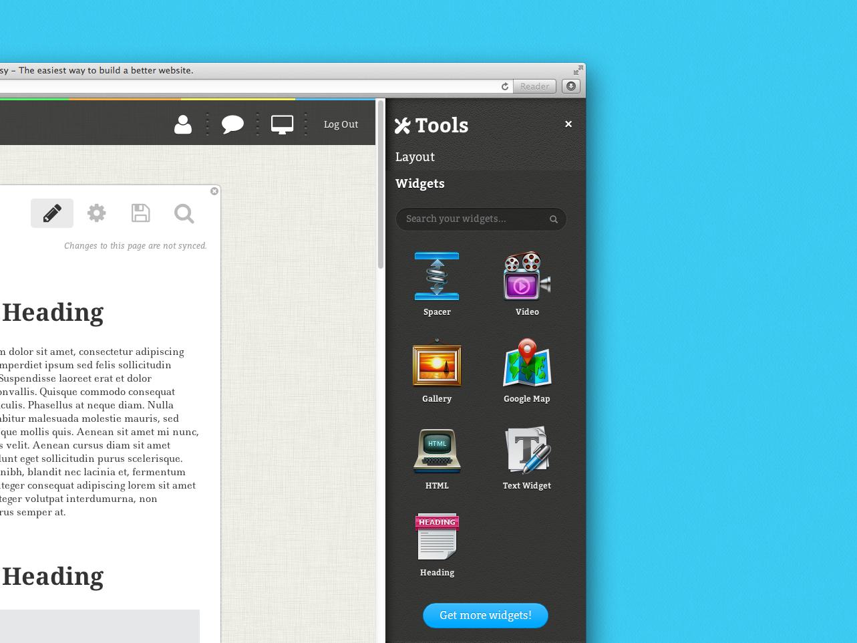 Cogsy toolbar