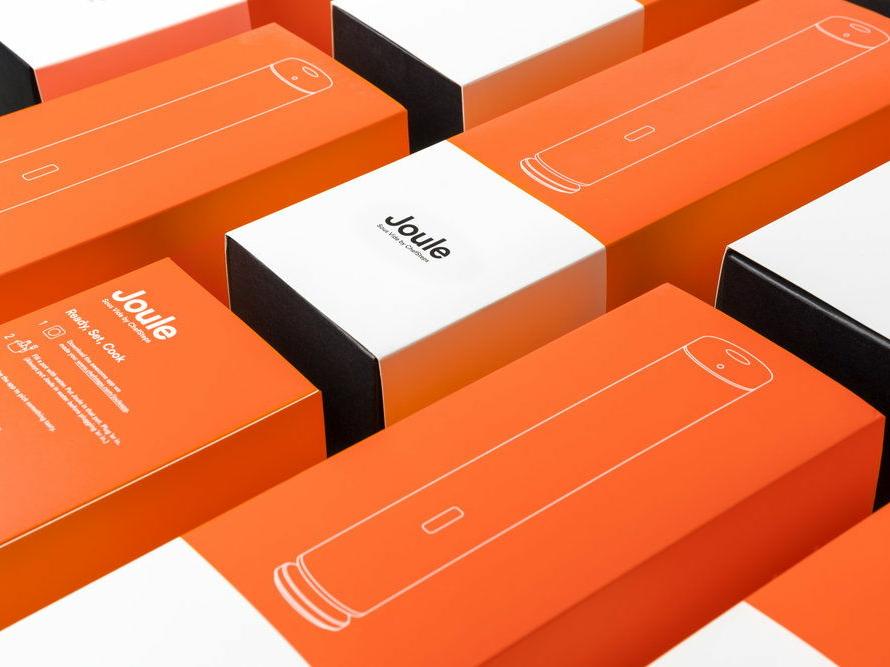 Joule Sous Vide Launch Packaging kitchen electronics sous vide packaging design packaging