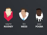 Rooney Messi Pogba