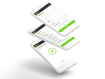 Taxi service interface lime grid flexible city service taxi clean ui web responsive