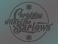 Christmas invitation logo