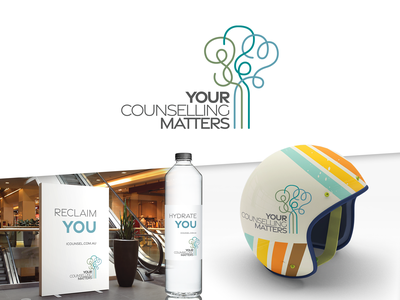 Your Counselling Matters branding counseling therapy counselling logo