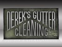 Hand-made gutter logo mockup