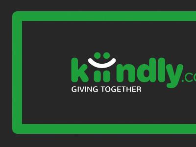 Logo for a social donation platform charity donation social