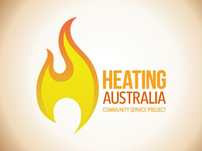 Heating Australia fire australia