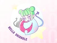 HELLO DRIBBBLE   HELLO WORLD