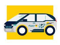 allygatorxADAC Car Branding
