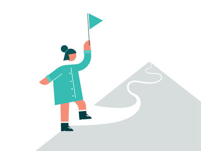 Mountain Climber team learning growth leadership mountain adventure explore leader