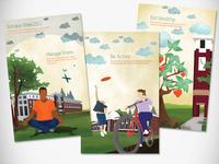 Healthy Campus Posters