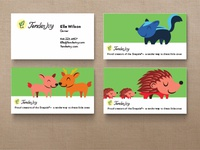 Tender Ivy Business Cards