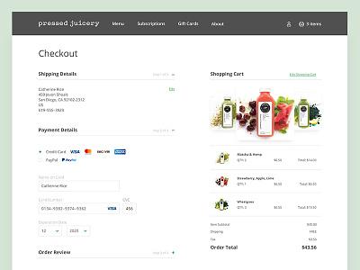 Credit Card Checkout | 002 checkout credit card dailyui web ux ui form