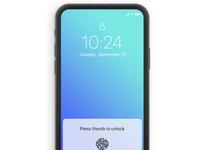 Kaseyrandall iphone concept future ui mobile fingerprint dribbble