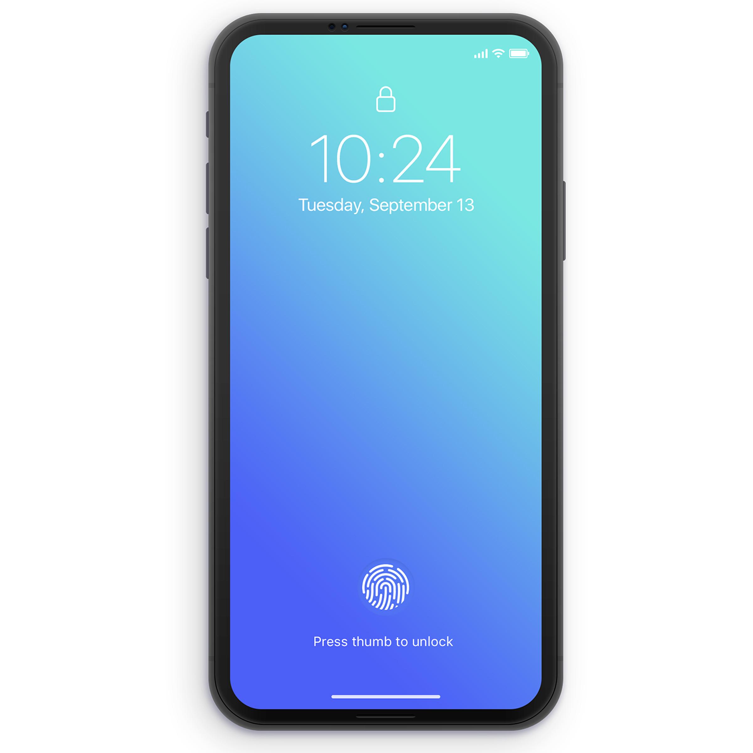 Kaseyrandall iphone concept future ui mobile fingerprint embedded dribbble2