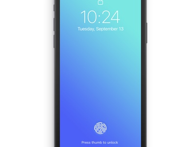 Future iPhone Concept ux user interface ui mobile touchid faceid apple inspiration future iphone