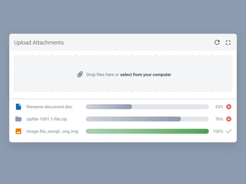 Daily UI Design: File Uploader loading color desktop inspiration patterns material design designer web design user experience user interface ux ui