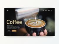 Daily UI Design: Coffee!