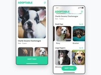 Daily UI Design: Adoptable Mobile