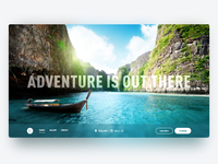 Daily UI Design: Travel Thailand!