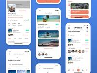 Wandergier • Mobile App Design