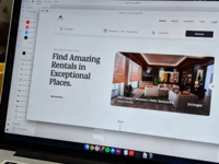 Find Amazing Rentals In Exceptional Places. toptal freelance travel web design website ixd user experience ux user interface ui