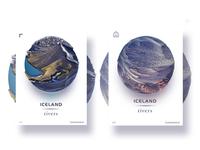 Iceland rivers -1(Eyjafjallajökull)