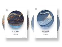 Iceland rivers -2(Eyjafjallajökull)