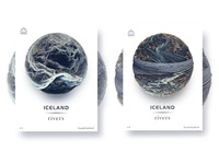 Iceland rivers -3(Eyjafjallajökull)