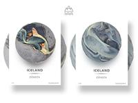 Iceland rivers -5(Eyjafjallajökull)