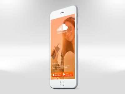 SoundCloud Endcard soundcloud ux ui interaction design branding