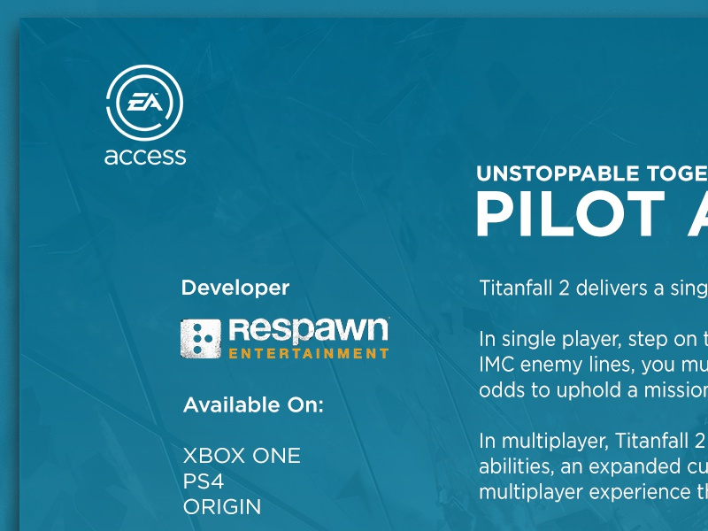 EA Access for Xbox One by Richard Moore | Dribbble | Dribbble