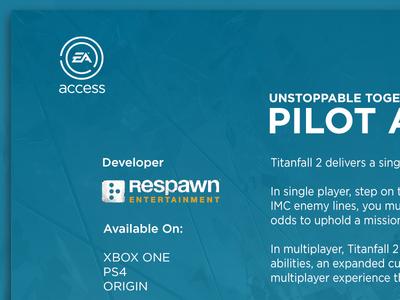 EA Access for Xbox One access ea design app ux ui